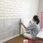 Xốp dán tường 3D giả gạch 70-70cm3