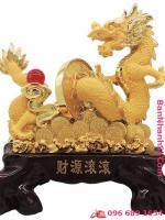 Tượng rồng vàng phong thủy2