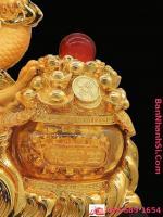 Tượng rồng vàng phong thủy1