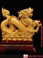 Tượng rồng vàng phong thủy3