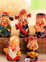 Bộ tượng 5 ông thần tài phúc lộc thọ