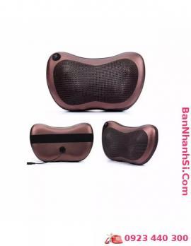 Gối massage hồng ngoại hai chiều 8 bi